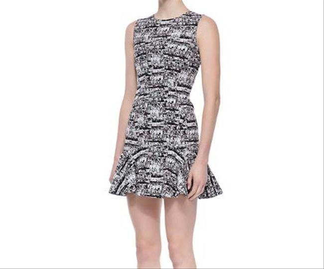 Item - Black and White Mini Short Casual Dress Size 8 (M)