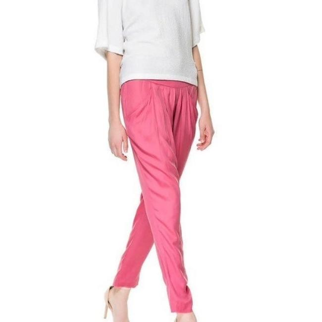 Item - Coral Pink Pleated Harem Pants Size 6 (S, 28)