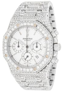 Audemars Piguet Audemars Piguet Royal Oak Chronograph ?8432 12.50Ct Diamonds Automatic Men Watch