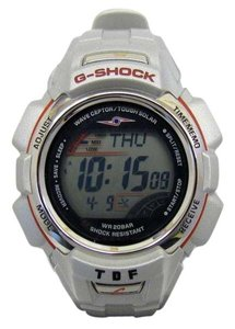 Casio G-SHOCK CASIO Casio watch GW-300MJUTR-8JF Ultra Seven Guard 1000 limited TDF collaboration double name silver round face tough solar men's 408421 RY2552