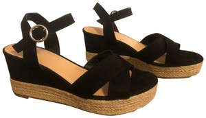 Big Buddha Black Sandals
