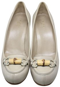 Gucci Office Casual Beige Pumps