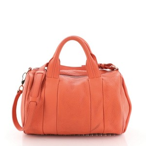 Alexander Wang Leather Satchel in Red