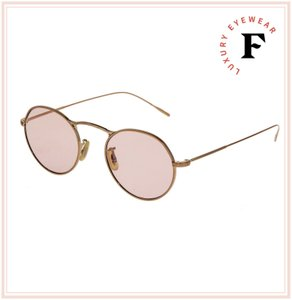 Oliver Peoples M-4 30th Round Sunglasses OV1220S Rose Gold Pink Photochromic Metal
