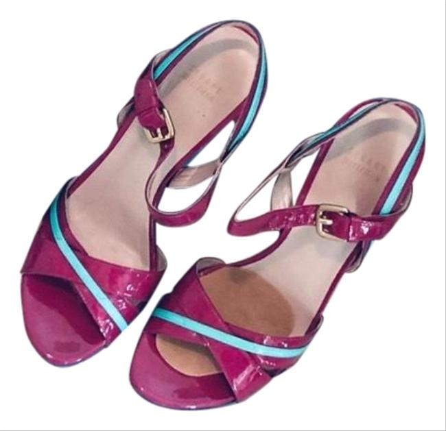 Item - Pink Purple Colorful Heels Sandals Size US 10 Regular (M, B)