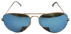 Ray-Ban Ray-Ban Aviator Sunglasses RB3025 112/17 58/14 Ice Blue Mirror Lens 58