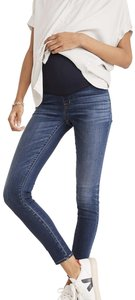 Madewell Maternity Over-the-Belly Skinny Jeans in Danny Wash: TENCEL™