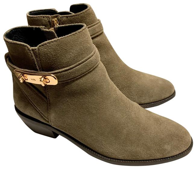 Item - Olive Patricia Suede Ankle Boots/Booties Size US 5.5 Regular (M, B)