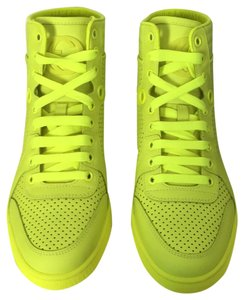 Gucci neon yellow Athletic