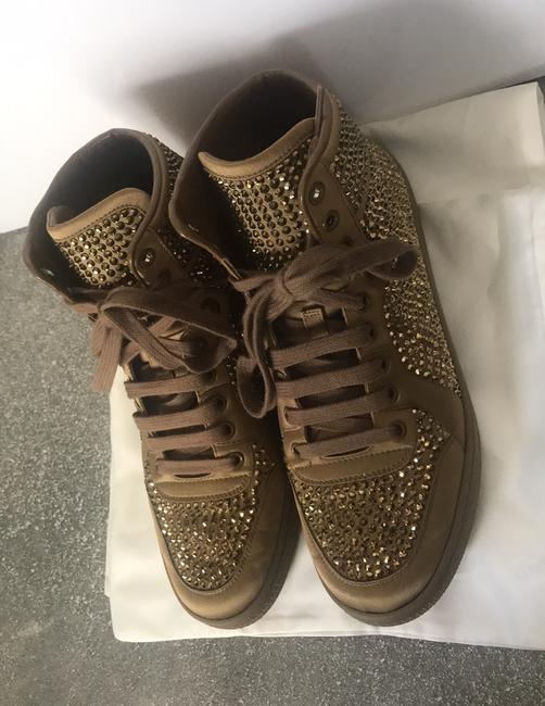 Gucci Gold Sneakers Size EU 38 (Approx. US 8) Regular (M, B) Gucci Gold Sneakers Size EU 38 (Approx. US 8) Regular (M, B) Image 3