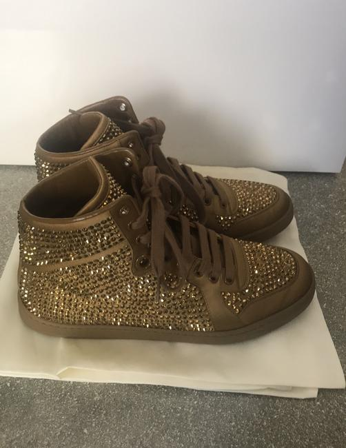 Gucci Gold Sneakers Size EU 38 (Approx. US 8) Regular (M, B) Gucci Gold Sneakers Size EU 38 (Approx. US 8) Regular (M, B) Image 4
