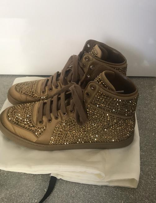 Gucci Gold Sneakers Size EU 38 (Approx. US 8) Regular (M, B) Gucci Gold Sneakers Size EU 38 (Approx. US 8) Regular (M, B) Image 6