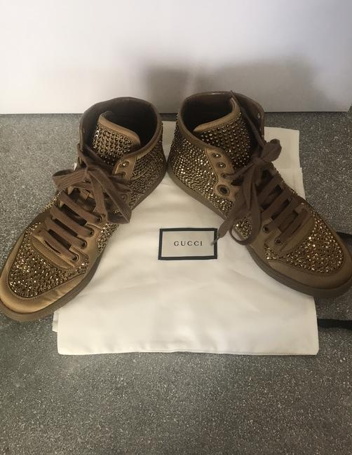 Gucci Gold Sneakers Size EU 38 (Approx. US 8) Regular (M, B) Gucci Gold Sneakers Size EU 38 (Approx. US 8) Regular (M, B) Image 9