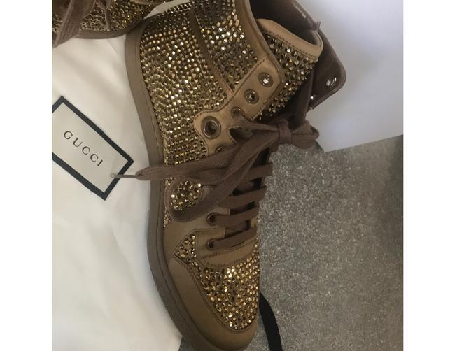 Gucci Gold Sneakers Size EU 38 (Approx. US 8) Regular (M, B) Gucci Gold Sneakers Size EU 38 (Approx. US 8) Regular (M, B) Image 10