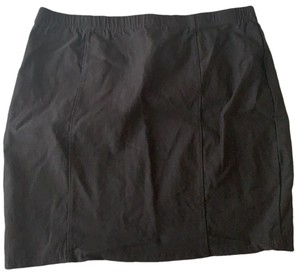 Bozzolo Mini Skirt Black