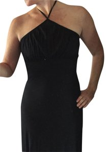 Express short dress Black Halter Knee Length on Tradesy