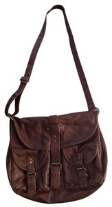Charlotte Russe Brown Messenger Bag