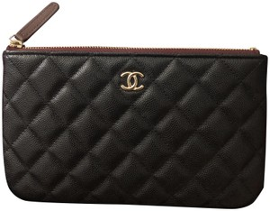Chanel O Case pouch (new small size) with light ghw