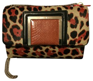 Jimmy Choo Leopard Designer Shoulder Bag