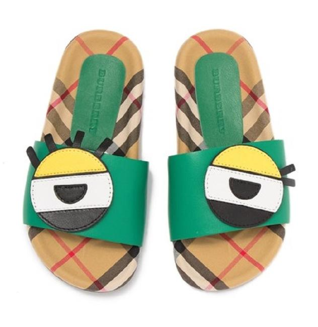 Item - Bright Pigment Green Coslin Sandals Size US 4 Regular (M, B)