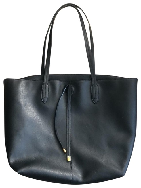 Item - Crawley Unlined Black Leather Tote