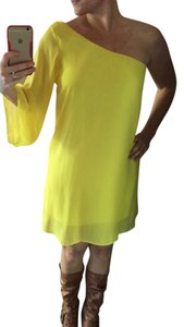 Manito Bright Sunshine One Shoulder Dress
