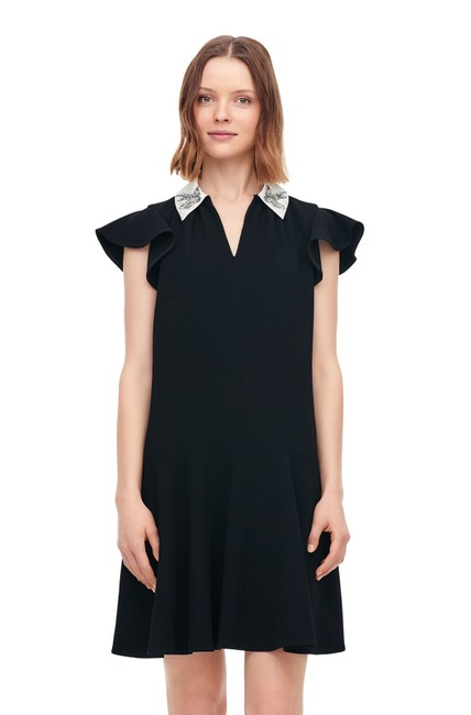 Preload https://img-static.tradesy.com/item/27303225/rebecca-taylor-black-o-sparrow-embroidered-collared-short-casual-dress-size-4-s-0-0-650-650.jpg