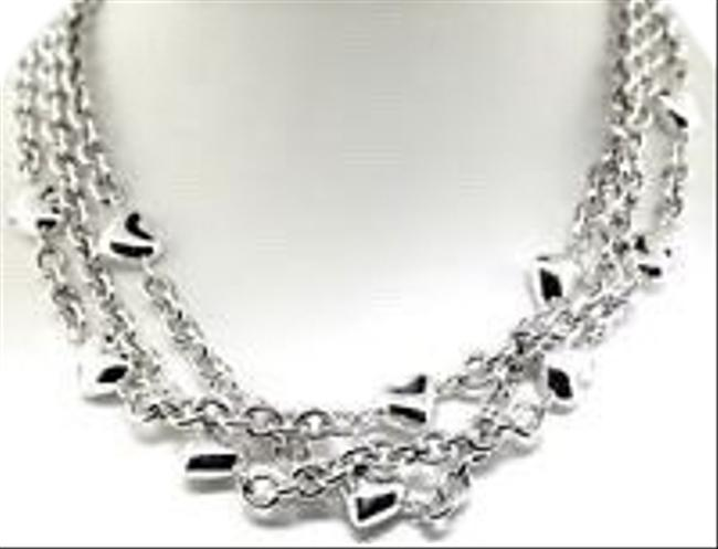 Tiffany & Co. Sterling Silver 3 Strand Hearts Necklace Tiffany & Co. Sterling Silver 3 Strand Hearts Necklace Image 1