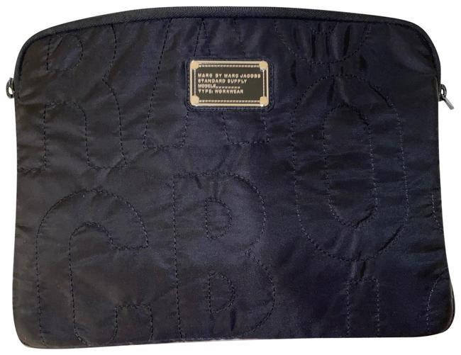 Marc by Marc Jacobs Black Laptop Sleeve Tech Accessory Marc by Marc Jacobs Black Laptop Sleeve Tech Accessory Image 1