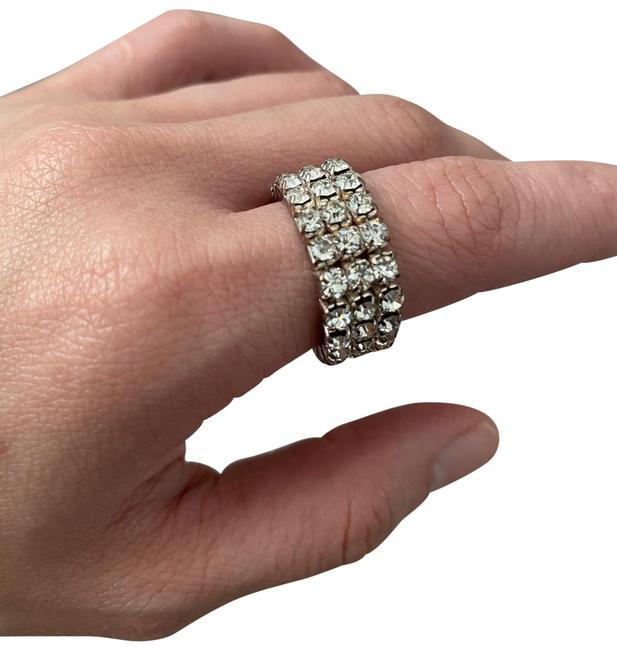 Jessica Simpson Silver Ring Jessica Simpson Silver Ring Image 1