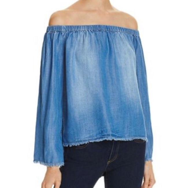 Preload https://img-static.tradesy.com/item/27303767/bella-dahl-off-the-shoulder-chambray-blouse-size-12-l-0-0-650-650.jpg