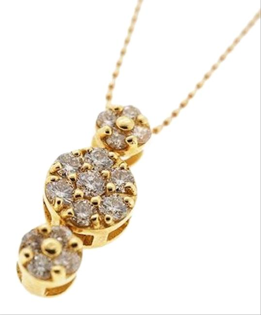 Unbranded Yellow Gold Natural Diamonds 0.300 Ct (18k) Pendant Necklace Unbranded Yellow Gold Natural Diamonds 0.300 Ct (18k) Pendant Necklace Image 1