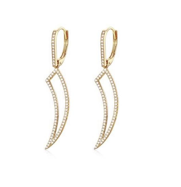 Unbranded Yellow 14k Gold Fashion Dangle Earrings Unbranded Yellow 14k Gold Fashion Dangle Earrings Image 1