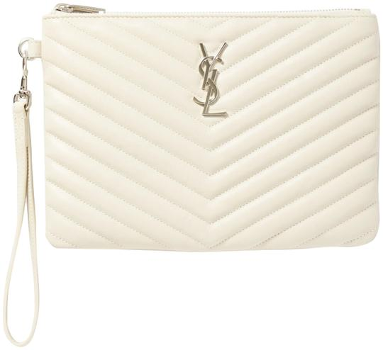 Preload https://img-static.tradesy.com/item/27304148/saint-laurent-off-white-clutch-pouch-leather-wallet-0-1-540-540.jpg