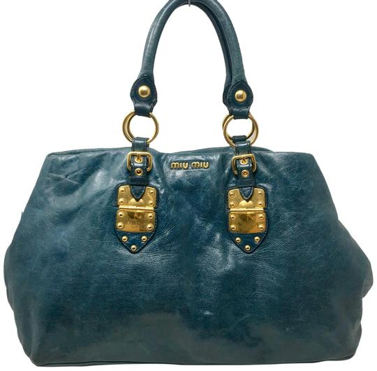 Preload https://img-static.tradesy.com/item/27304207/miu-miu-coffer-glazed-vitello-shine-blue-leather-tote-0-1-540-540.jpg