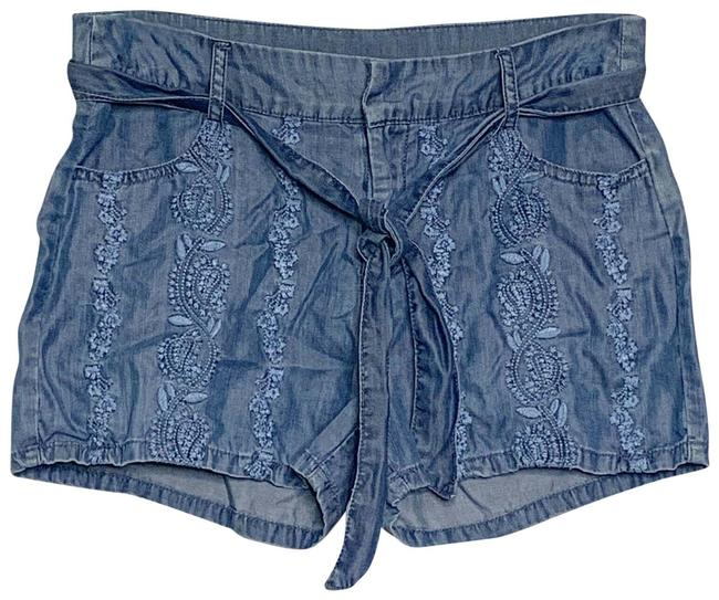 Preload https://img-static.tradesy.com/item/27304279/alya-blue-chambray-shorts-size-4-s-27-0-3-650-650.jpg