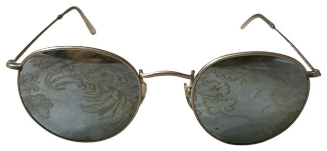 Ray-Ban Silver Gray Rb 3447 Round Metal Colored Sunglasses Ray-Ban Silver Gray Rb 3447 Round Metal Colored Sunglasses Image 1