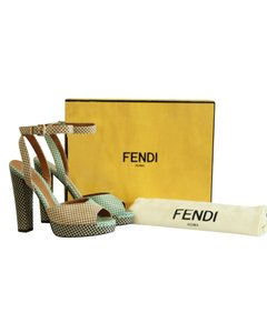 Fendi Multicolor Platforms