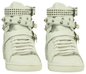 Saint Laurent Sneaker Casual Leather White Athletic