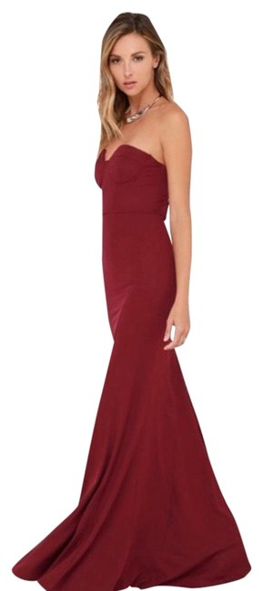 Preload https://img-static.tradesy.com/item/27304681/lulus-red-lady-love-long-formal-dress-size-8-m-0-1-650-650.jpg