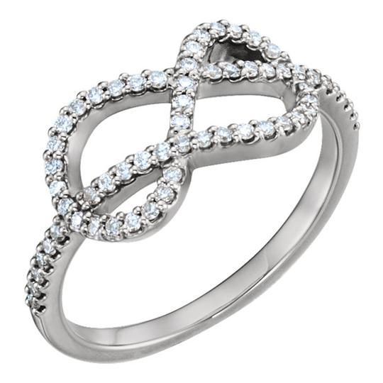 Preload https://img-static.tradesy.com/item/27304756/white-100-ct-ladies-round-love-knot-ring-0-1-540-540.jpg