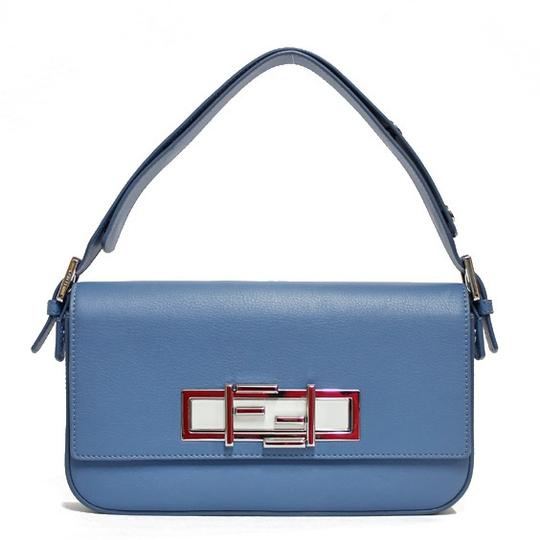 Preload https://img-static.tradesy.com/item/27304822/fendi-system-ladies-men-blue-gray-white-leather-shoulder-bag-0-0-540-540.jpg