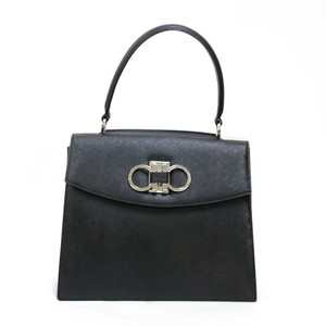 Salvatore Ferragamo Satchel in Black / White