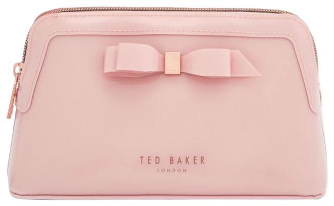 Ted Baker Cahira Cosmetics Pink Pvc Clutch Ted Baker Cahira Cosmetics Pink Pvc Clutch Image 1