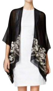 INC International Concepts Embroidered Flowy Cardigan