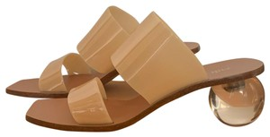 Cult Gaia nude Sandals