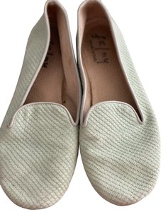 French Sole Mint Green Flats