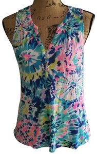 Lilly Pulitzer Top Multi Colors