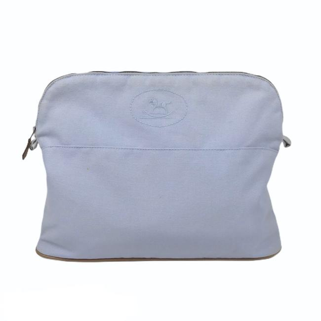 Item - Light Blue Bolide Gm Canvas Pouch Cosmetic/Travel Cosmetic Bag