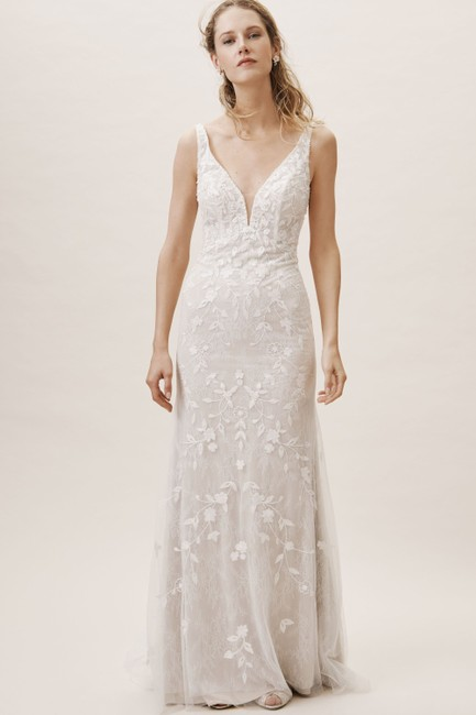 Item - Ivory Claremont Gown Whispers & Echoes Feminine Wedding Dress Size 12 (L)